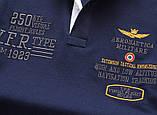 Aeronautica Militare original РІЗНІ кольори чоловіча футболка поло аеронавтика милитаре, фото 9