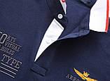 Aeronautica Militare original РІЗНІ кольори чоловіча футболка поло аеронавтика милитаре, фото 10