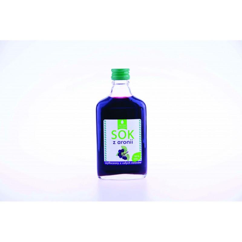 Сок черноплодной рябины 100% (Арония) - 200 мл , Targroch