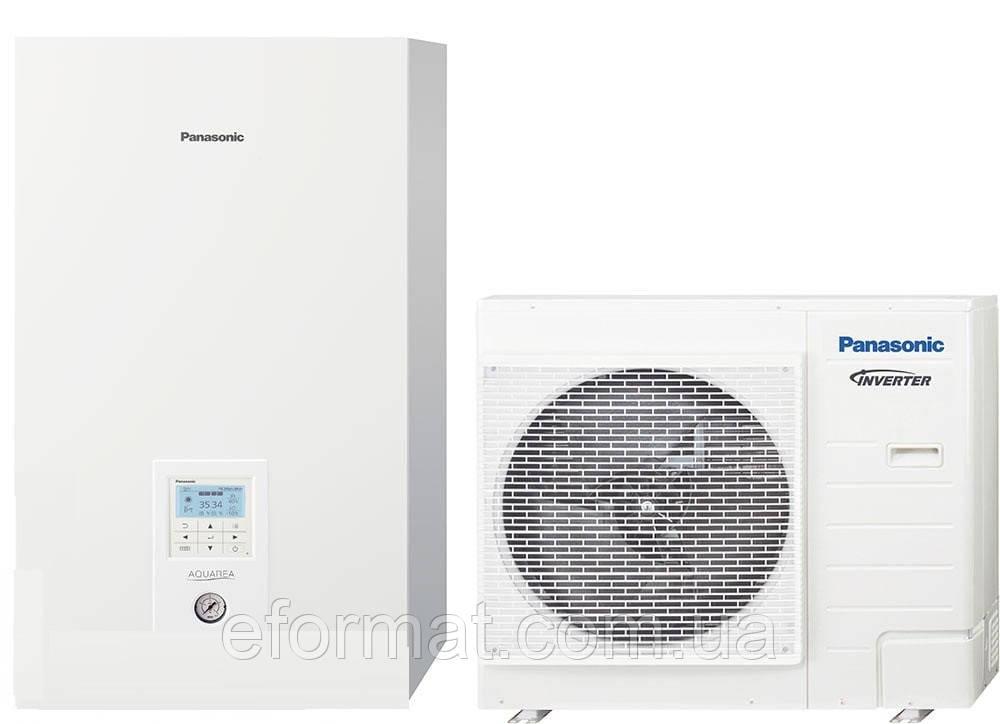 Тепловой насос Panasonic Aquarea T-Cap Bi-Bloc KIT-WXC09H3E5, 9кВт, 1фаза