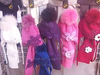 Чудесные шапочки на девочек Украина делает под Mokosh осень- зима