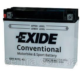 Мото аккумулятор EXIDE E50-N18L-A3