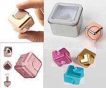 Кубик-антистресс метал, в боксе 6,5*6,5*4,5см /120-3/