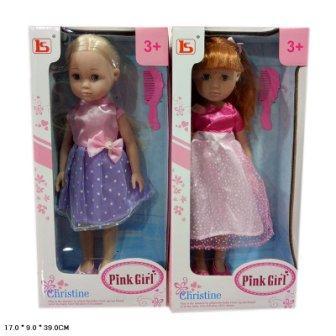 Кукла 35см LS1488-1C с аксес.2в.кор.39*9*17 /36/