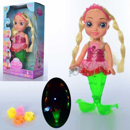 Кукла музыкальная XMY8086 русалка