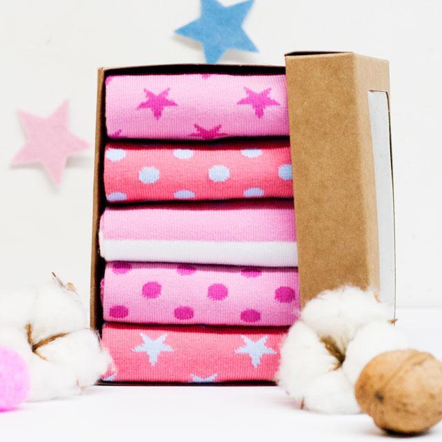Набор носков из 5 пар Pink Box