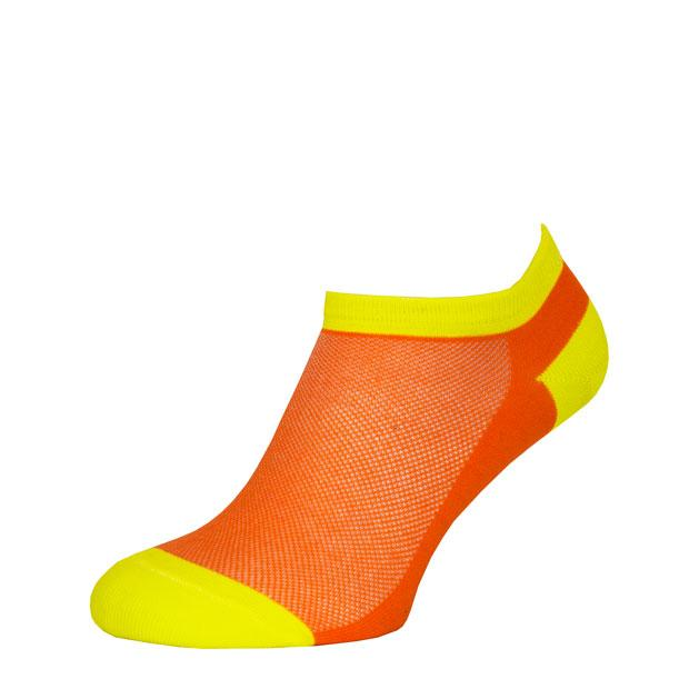 Носки Оранжево-Желтые в сеточку