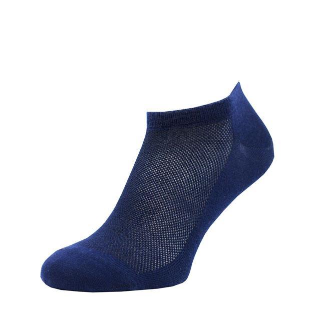 Носки темно-Синие в сеточку MINI