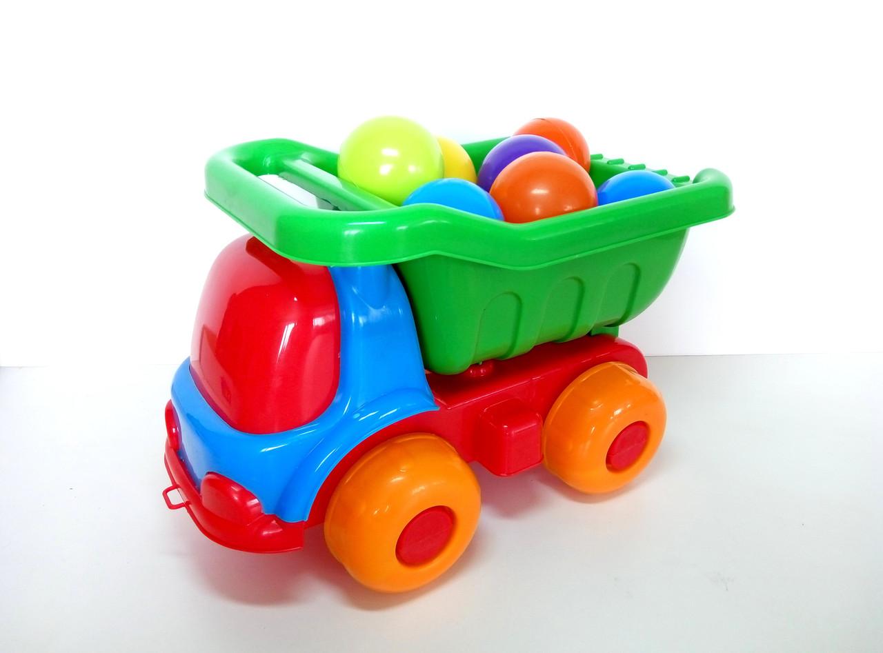 Машина Шмелек Б с шариками Kinderway (07-720-4)
