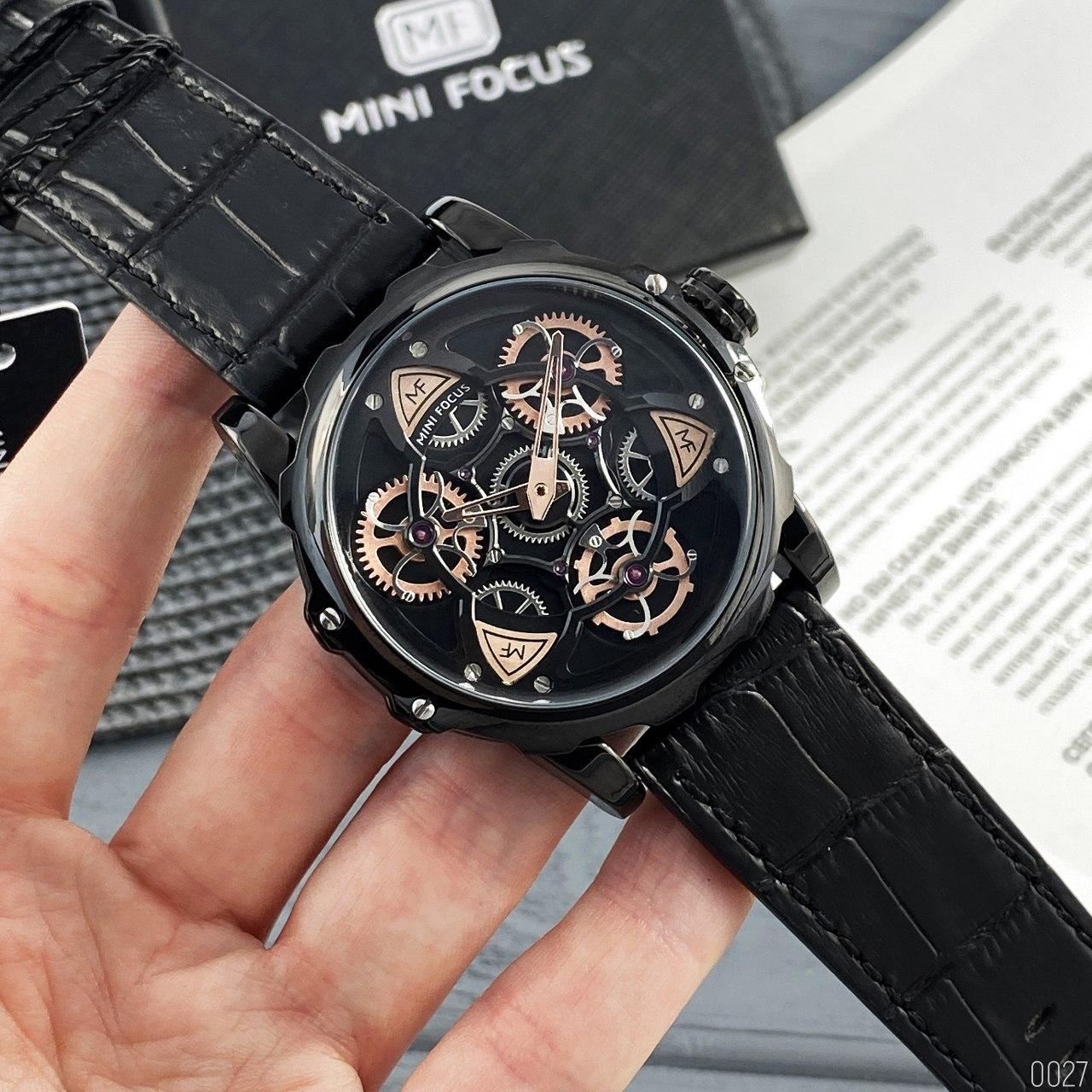 Часы мужские кварцевые Mini Focus MF0249G.02 All Black AB-1095-0027