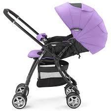 Коляска Aprica Luxuna CTS Purple фиолетовая прогулочная
