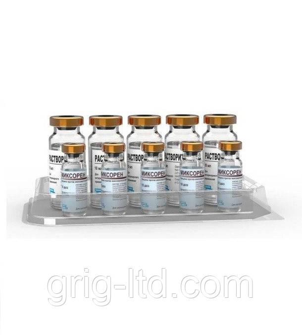 Вакцина Myxoren (миксоматоз кроликов) (10 доз)