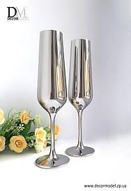Набор бокалов для шампанского Bohemia Strix 200 ml (цвет: ХРОМ)