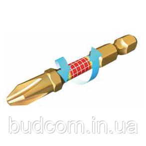 Торсионная бита Square SQ2 Impact GOLD Makita 2 шт (B-28204), фото 2
