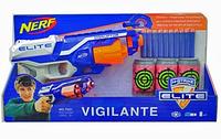 Бластер Nerf Нерф стреляет поролоновыми снарядами 7021