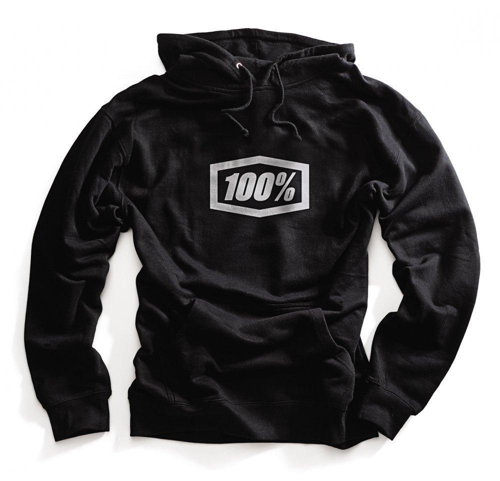 Толстовка Ride 100% ESSENTIAL Hooded Pullover Sweatshirt [Black], M