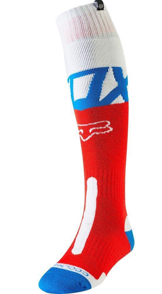 Мото носки FOX COOLMAX THICK KILA SOCK [BLU/RD], Large