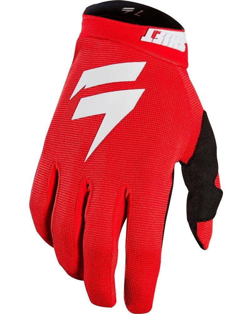 Мото перчатки SHIFT WHIT3 AIR GLOVE [RED], L (10)