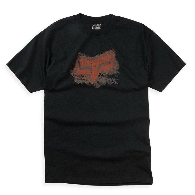 Футболка FOX Mischief Tee [BLACK], XXL