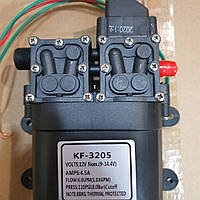 Насос электрический KF-3205 12 В повышенной производительности для электроопрыскивателя