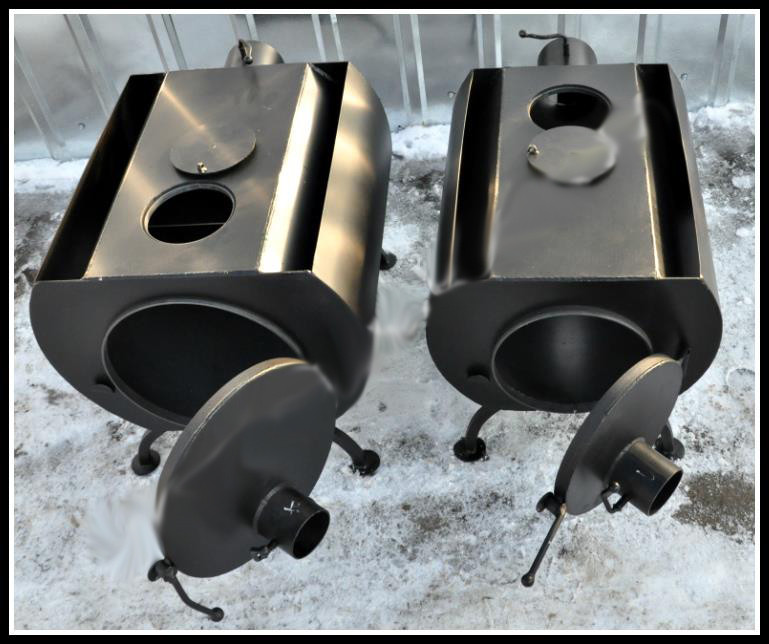 Печь дровяная ПД-80 с варочным отверстием (8 кВт)