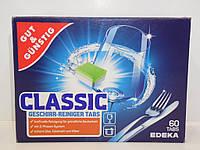 Таблетки для посудомоечных машин G&G Power Classic 60 шт