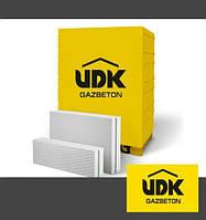Газобетон UDK 600*200*100 М-500 (1шт.-0,012 м.куб) 1п-150шт