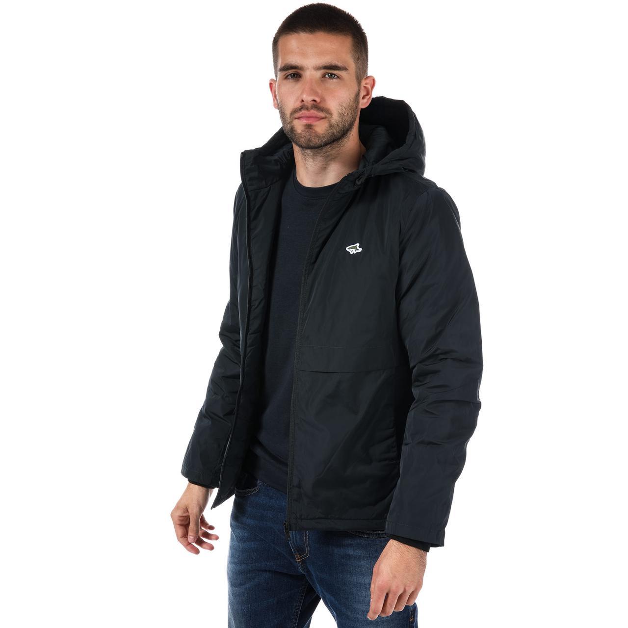 Демисезонная синяя мужская куртка прямая Le Shark Coen Zip Jacket