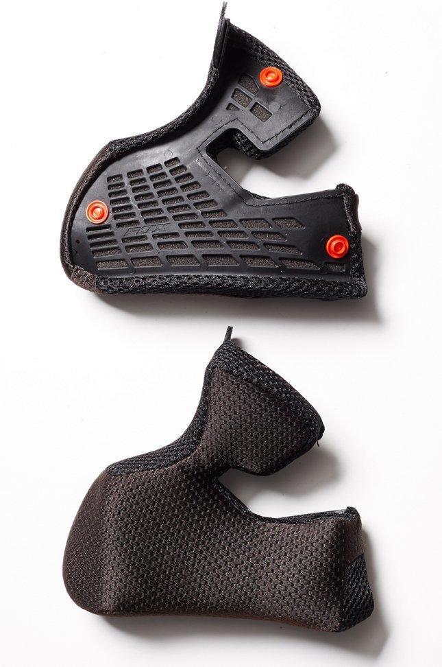 Вкладыши для мото шлема FOX V3 CHEEK PADS [BLK], S/M
