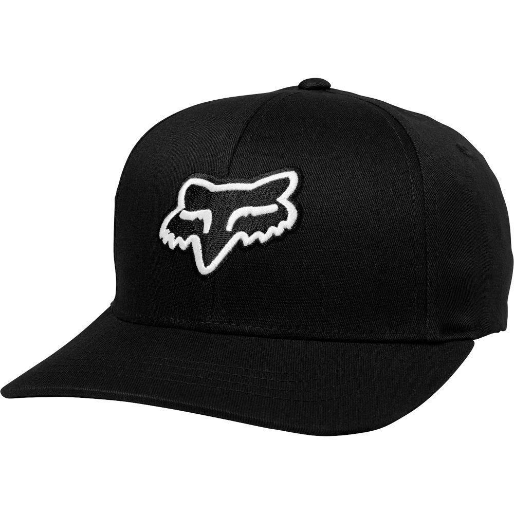 Кепка FOX Legacy Flexfit Hat [Black], S/M