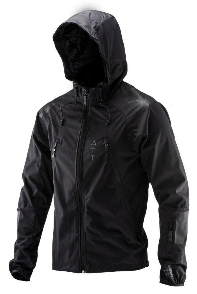 Вело куртка LEATT Jacket DBX 4.0 ALL-MOUNTAIN [Black], L