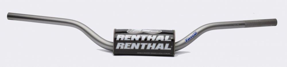 Руль Renthal Fatbar [Grey], HONDA / KAWASAKI