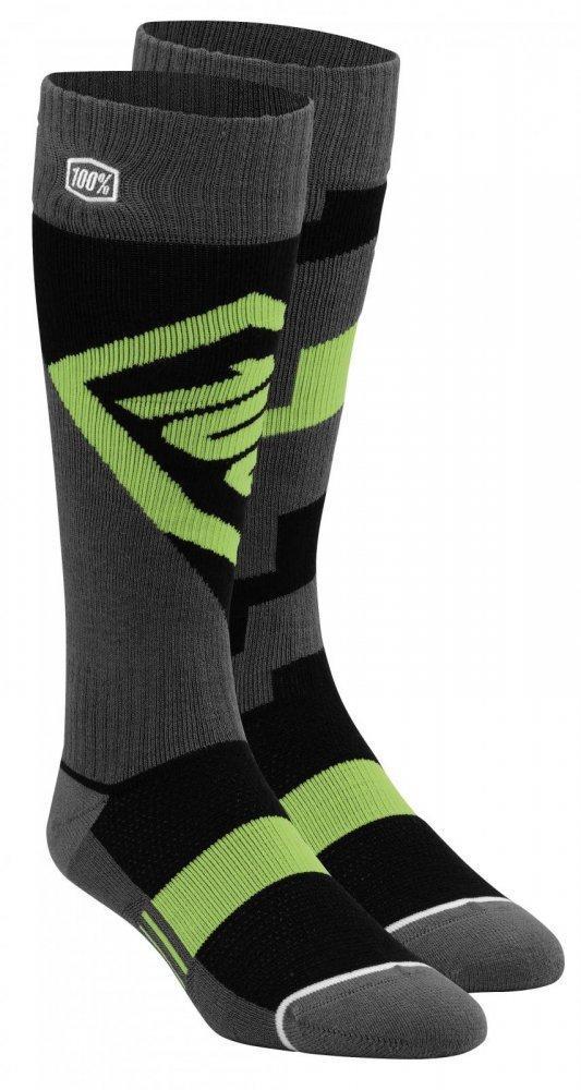 Мото носки Ride 100% TORQUE Comfort Moto Socks [Lime], L/XL