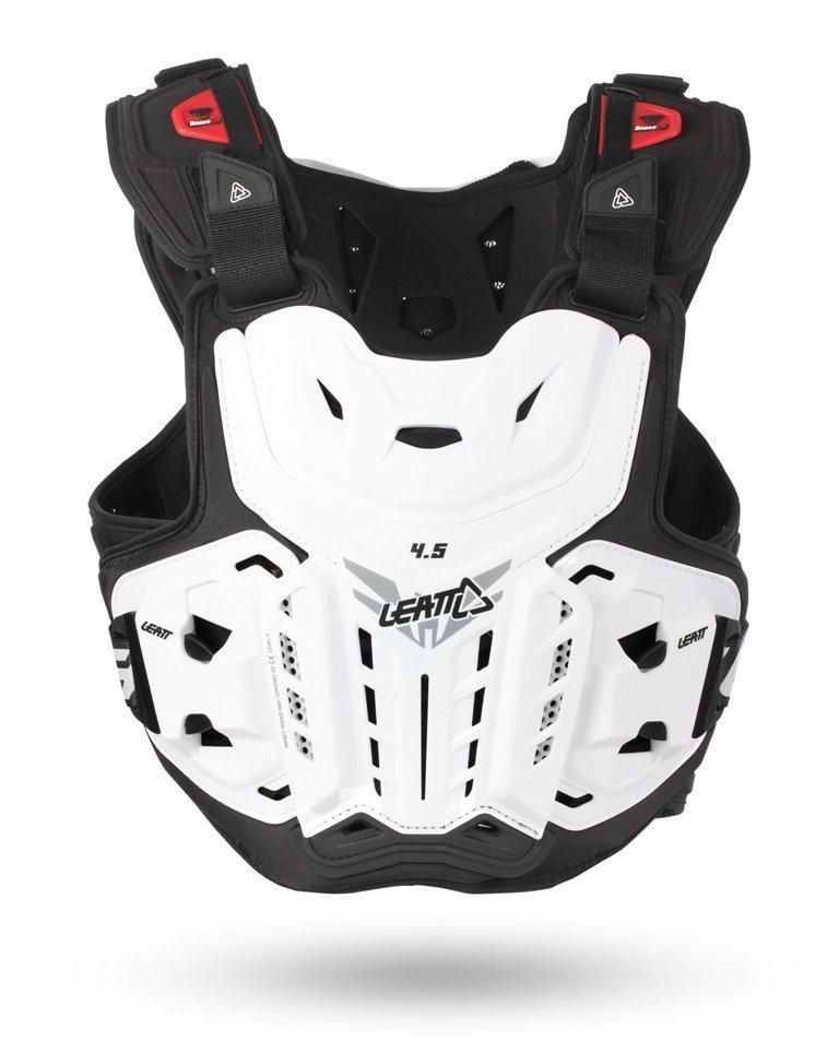 Мотозащита тела LEATT Chest Protector 4.5 [White], One Size
