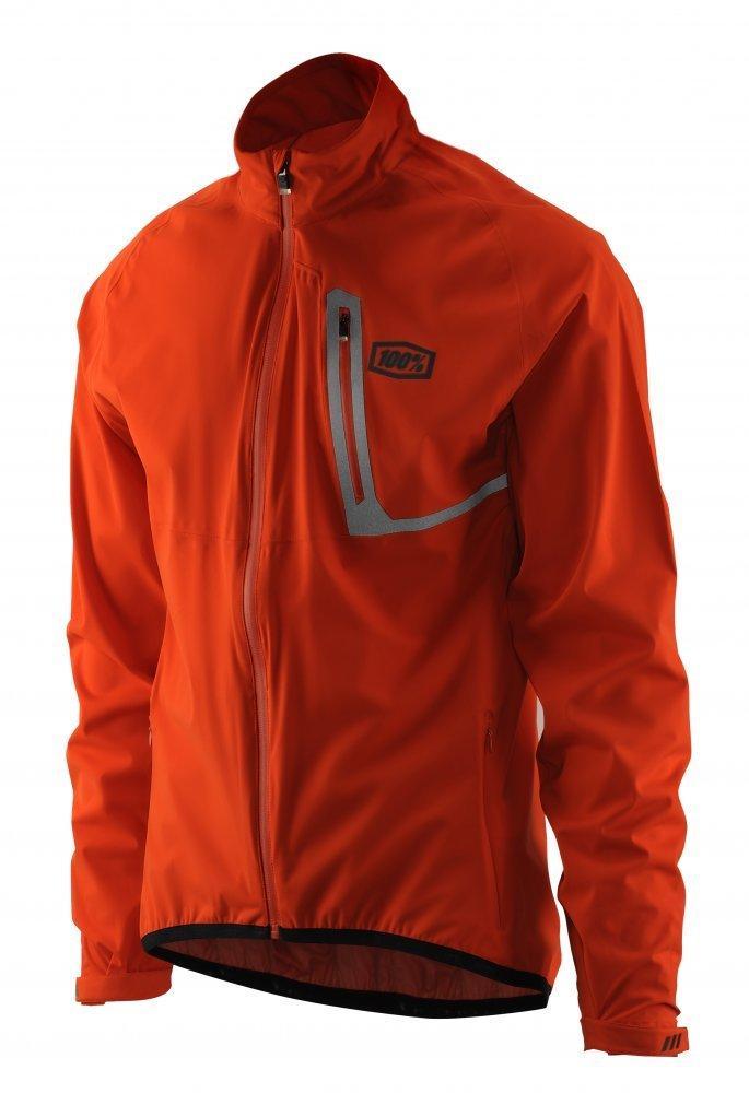 Куртка Ride 100% Hydromatic Jacket Black [Orange], M