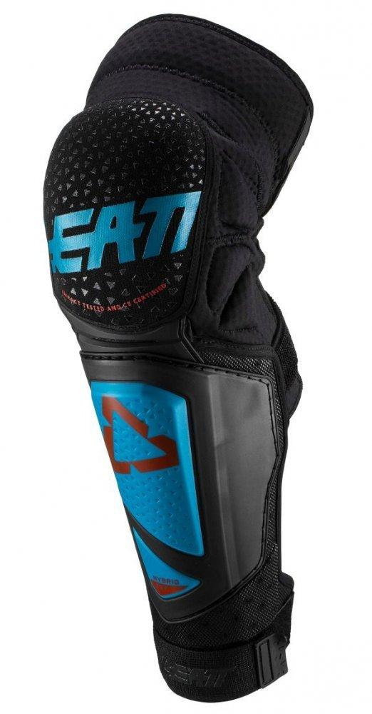 Наколенники LEATT Knee Shin Guard 3DF Hybrid EXT [Fuel/Black], XXLarge