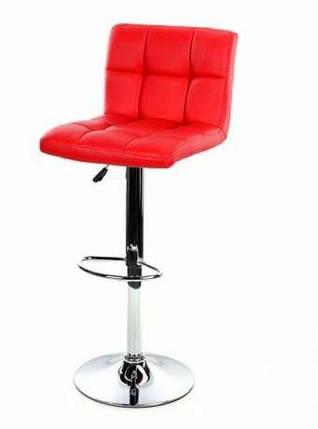 Барный стул Hoker, газлифт (BS-002) Красный, фото 2