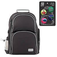 Рюкзак шкільний каркасний Kite Education K19-702M-4 Smart чорний, фото 1