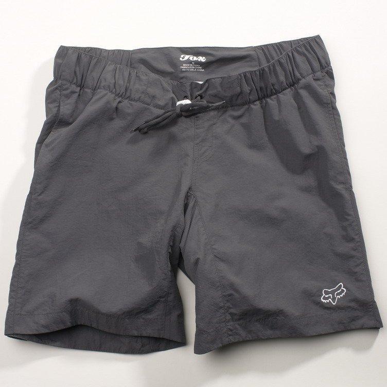 Женские вело шорты FOX Girls Base Short [Charcoal], Medium