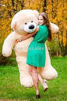 Огромный плюшевый медведь, Персиковый мишка  XXXXL (200 см)
