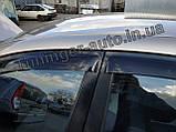 Вітровики, дефлектори вікон Chevrolet Lacetti Hatchback/Лачетті хетчбек 2004-2012(ANV), фото 3