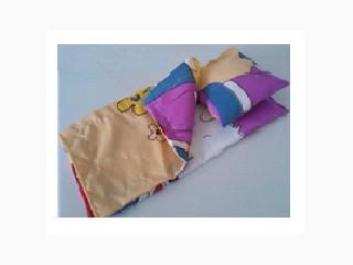 Набор постельный д/кукольной кроватки 25х45см 3предм. одеяло,подушка,простыня