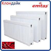 Emtas стальной панельный радиатор тип 22 300х800