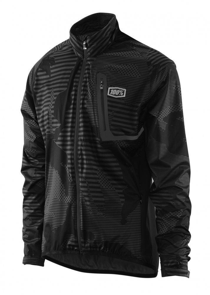 Куртка Ride 100% Hydromatic Jacket Black [Camo], L