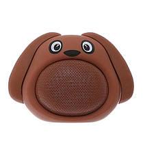 Колонка блютуз Bluetooth музыкальная игрушка собачка Желтая, фото 2