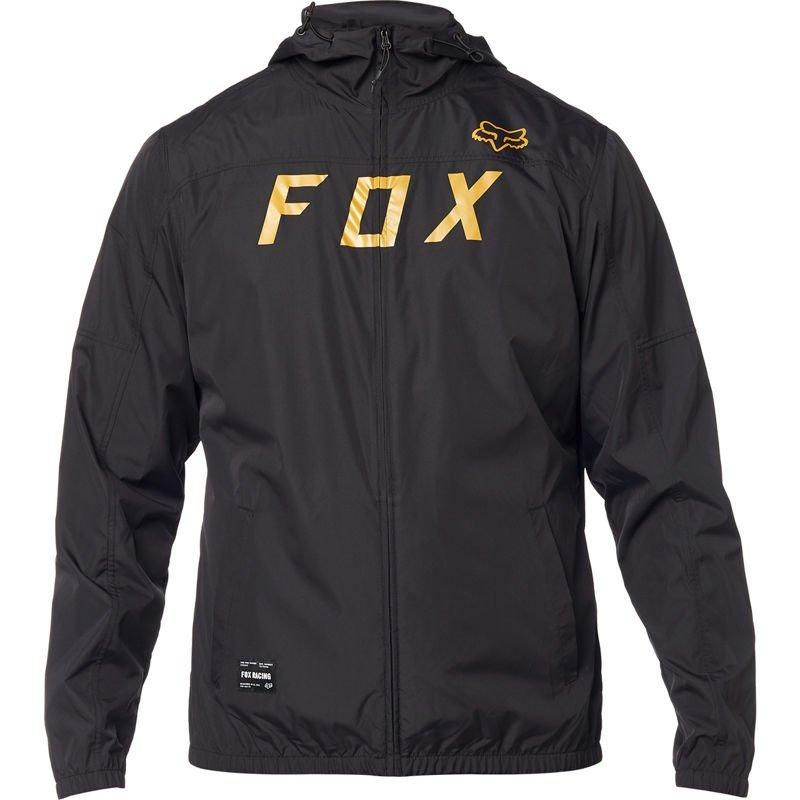 Куртка FOX MOTH WINDBREAKER [BLACK], XL