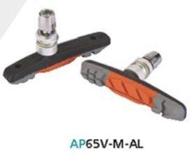 Тормозные колодки ASHIMA Sport AP65V-M-AL для ободных вело тормозов V-Brake