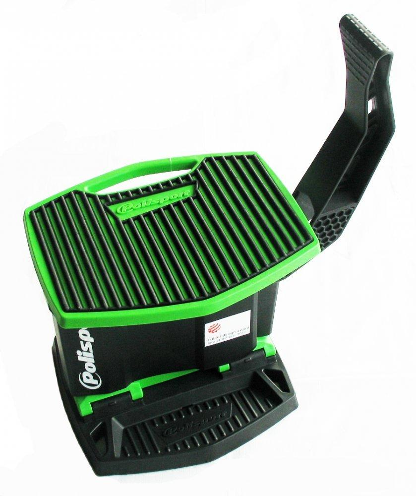 Подставка под мотоцикл Polisport Lift Stand MX [GREEN/BLACK]