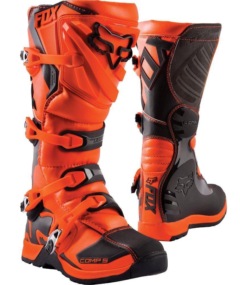 Детские мотоботы FOX Comp 5 Youth Boot [Orange], 5