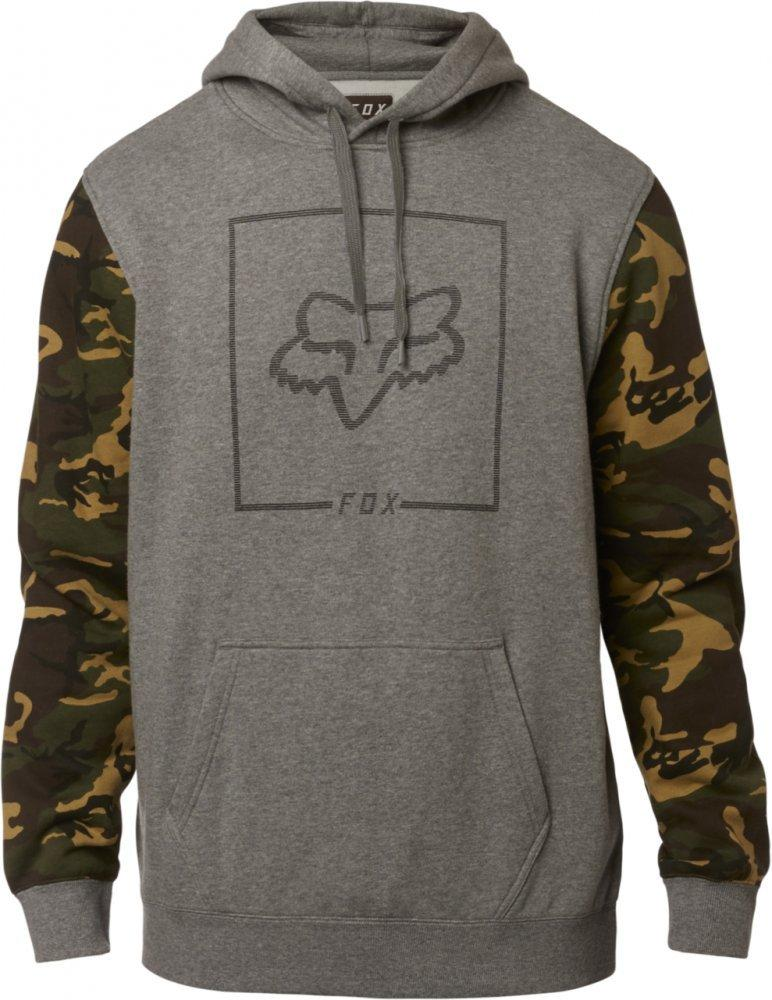 Толстовка FOX CHAPPED CAMO PULLOVER FLEECE [HEATHER GRAPHITE], XL